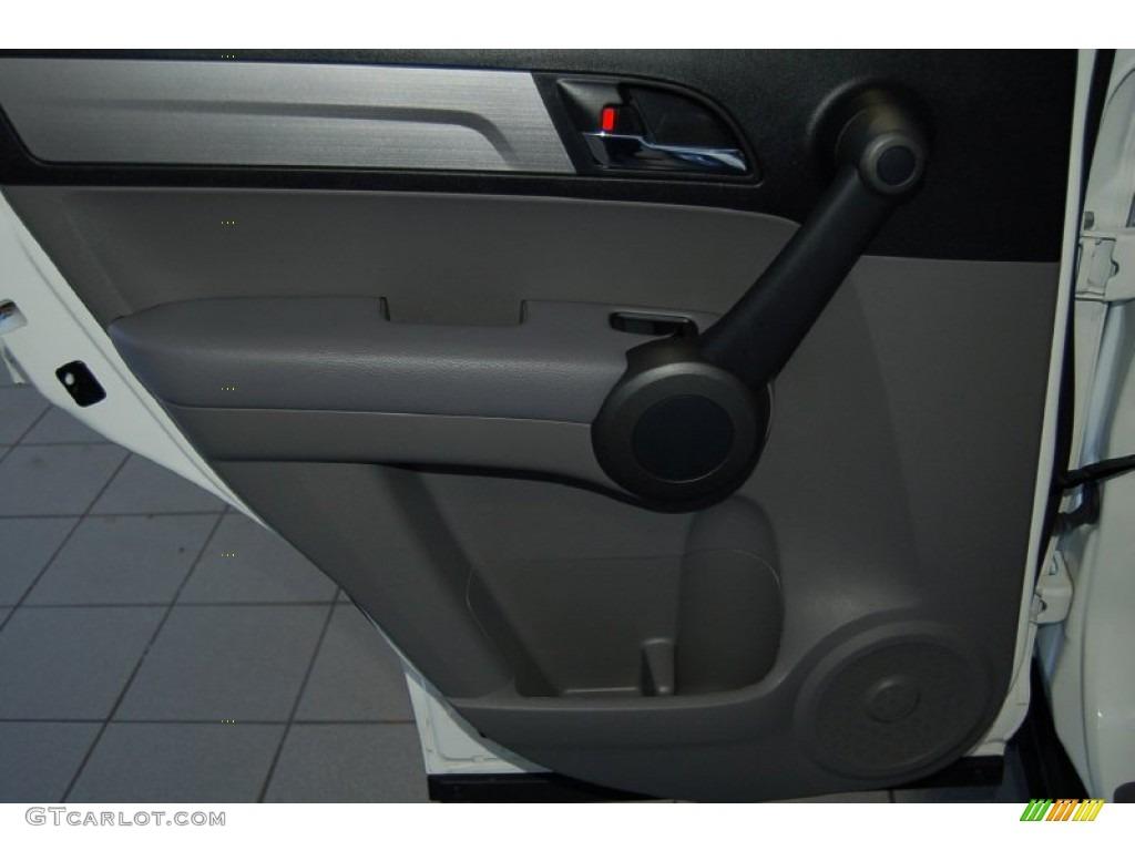 2011 CR-V LX - Taffeta White / Gray photo #20