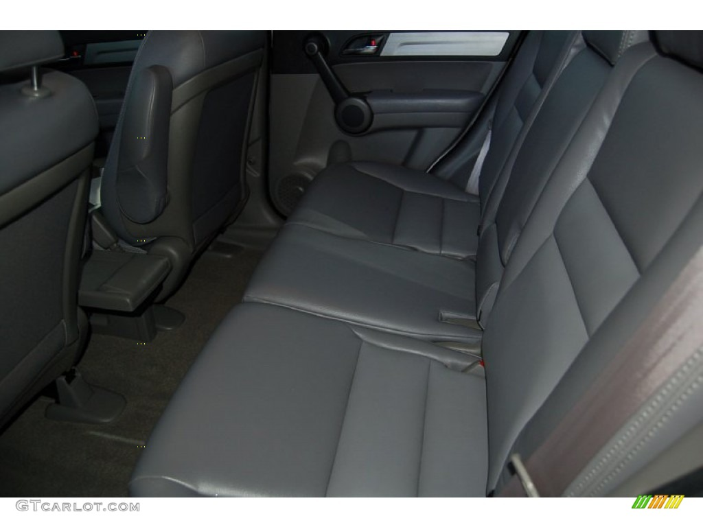 2011 CR-V LX - Taffeta White / Gray photo #22