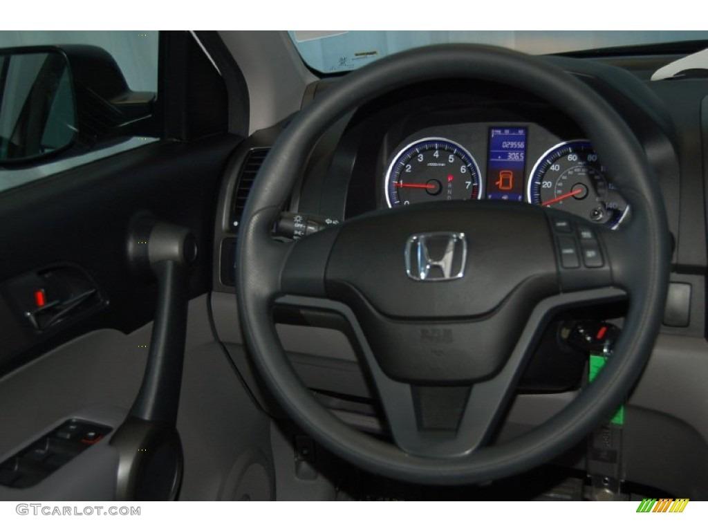 2011 CR-V LX - Taffeta White / Gray photo #24
