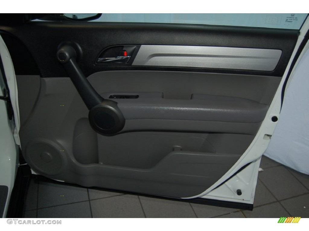 2011 CR-V LX - Taffeta White / Gray photo #28