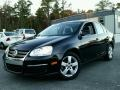 Black 2008 Volkswagen Jetta SE Sedan