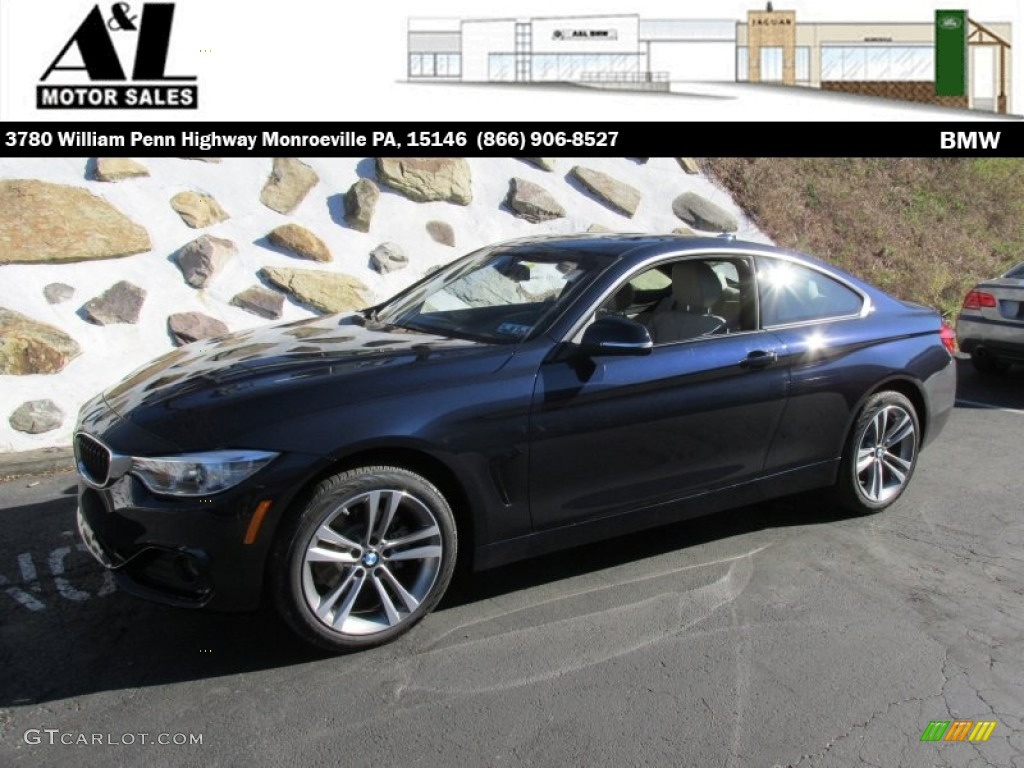 Bmw 428i Xdrive New Car Update 2020 Mitsubishi Mirage 1 5 Engine Diagram 2015 Midnight Blue Metallic 4 Series Coupe