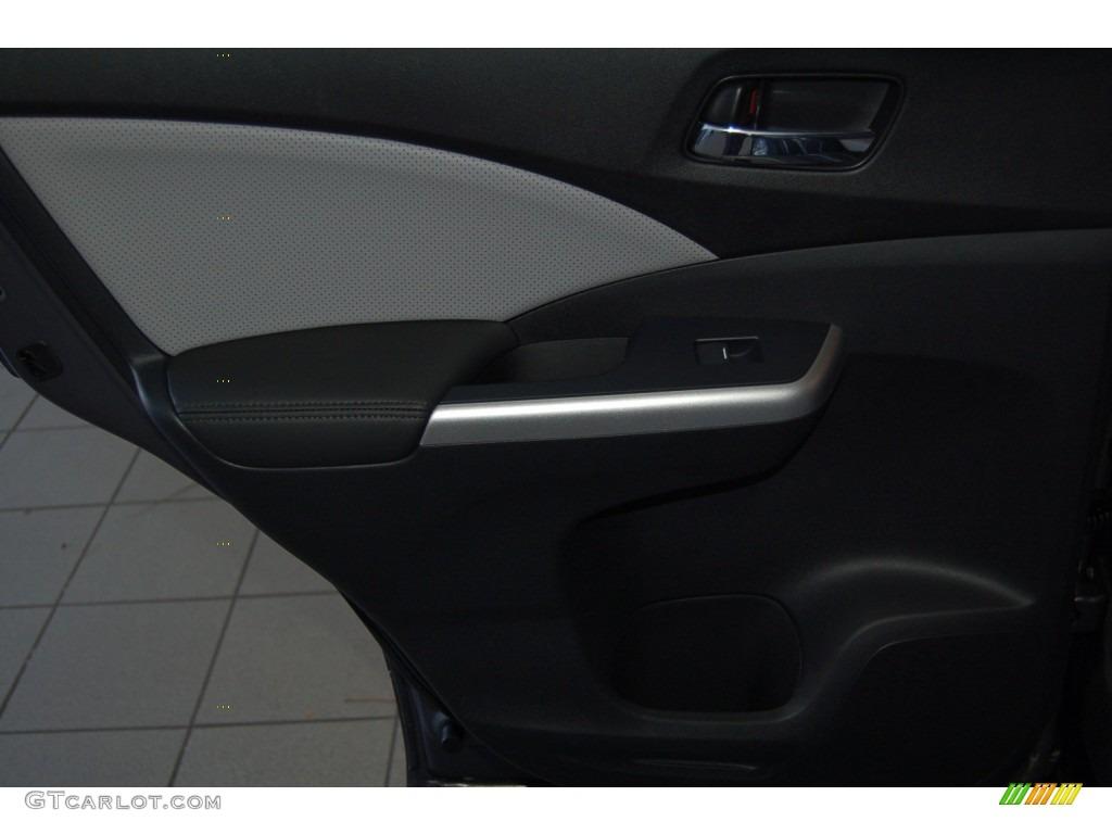 2015 CR-V EX-L - Modern Steel Metallic / Gray photo #24