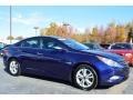 Pacific Blue Pearl 2011 Hyundai Sonata Limited
