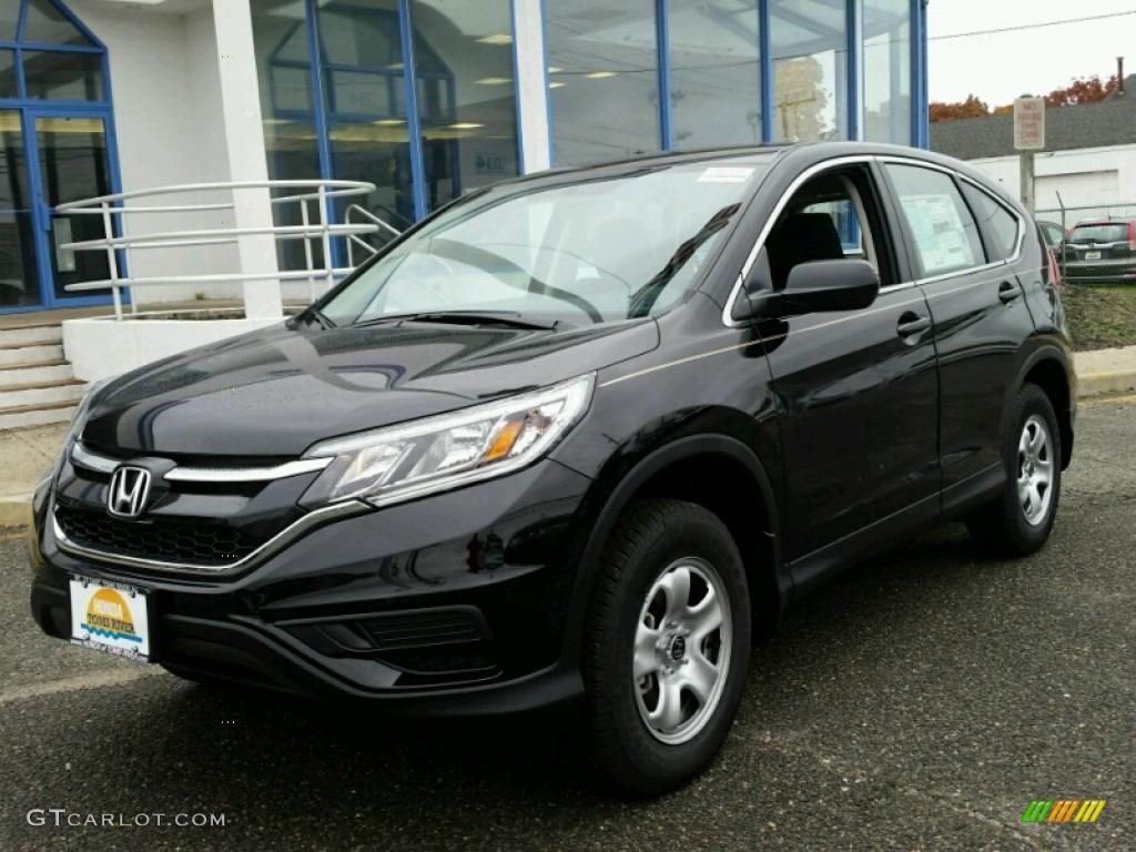 Crystal Black Pearl Honda CR-V