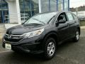 2015 Crystal Black Pearl Honda CR-V LX AWD  photo #1