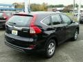 2015 Crystal Black Pearl Honda CR-V LX AWD  photo #2