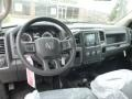 Dashboard of 2015 5500 Tradesman Crew Cab 4x4 Chassis