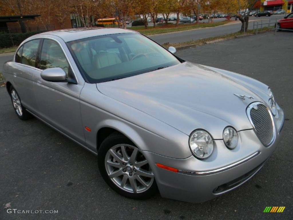 platinum metallic 2005 jaguar s type 3 0 exterior photo. Black Bedroom Furniture Sets. Home Design Ideas