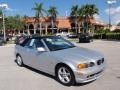 Titanium Silver Metallic 2002 BMW 3 Series 325i Convertible