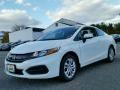 Taffeta White 2015 Honda Civic LX Coupe