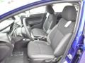 Charcoal Black Front Seat Photo for 2015 Ford Fiesta #99145624
