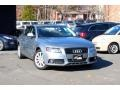 Quartz Grey Metallic 2009 Audi A4 2.0T Premium quattro Sedan