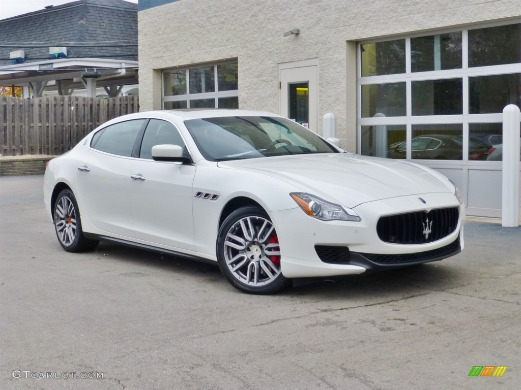 2015 bianco alpi white maserati quattroporte s q4 awd for White maserati red interior