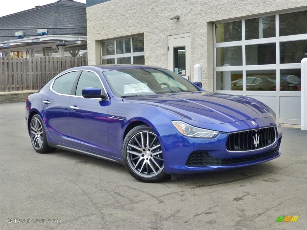 Maserati blue color