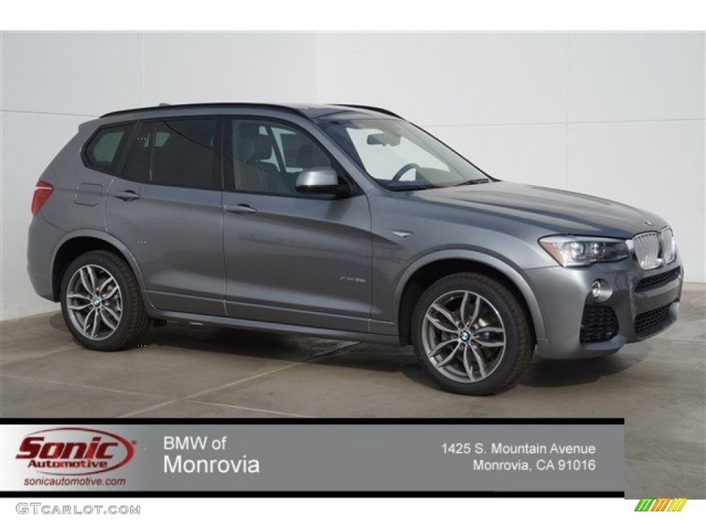 Space Grey Metallic BMW X3