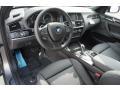 Black Interior Photo for 2015 BMW X3 #99174658