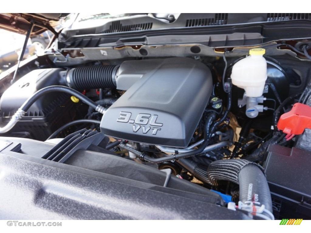 2015 1500 Big Horn Quad Cab - Western Brown / Black/Diesel Gray photo #9