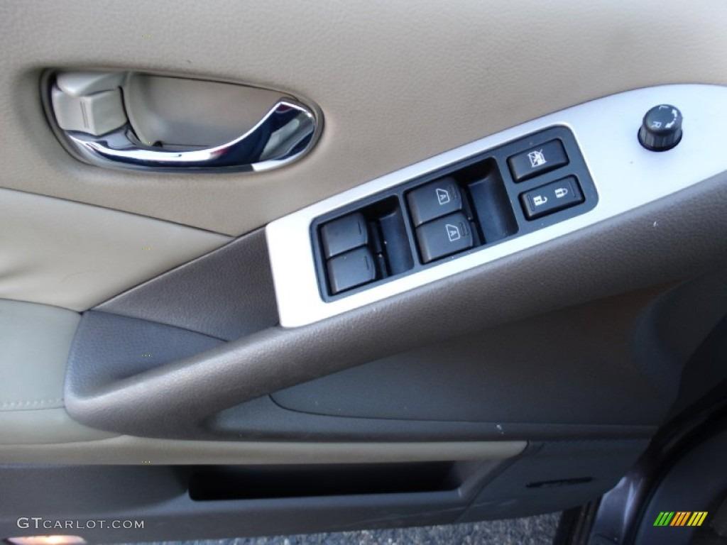 2010 Murano SL AWD - Tinted Bronze Metallic / Beige photo #6
