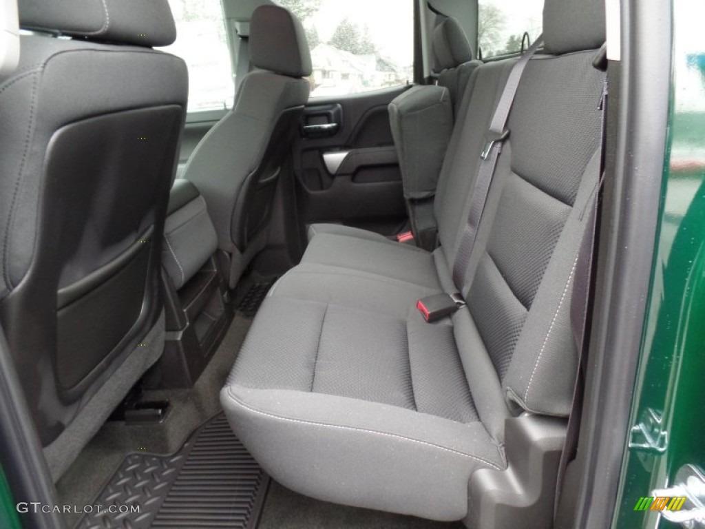 Jet Black Interior 2015 Chevrolet Silverado 2500hd Lt Double Cab 4x4