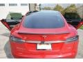 Red Tesla Multi-Coat - Model S P85 Performance Photo No. 12