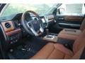 1794 Edition Premium Brown Leather Prime Interior Photo for 2015 Toyota Tundra #99254272