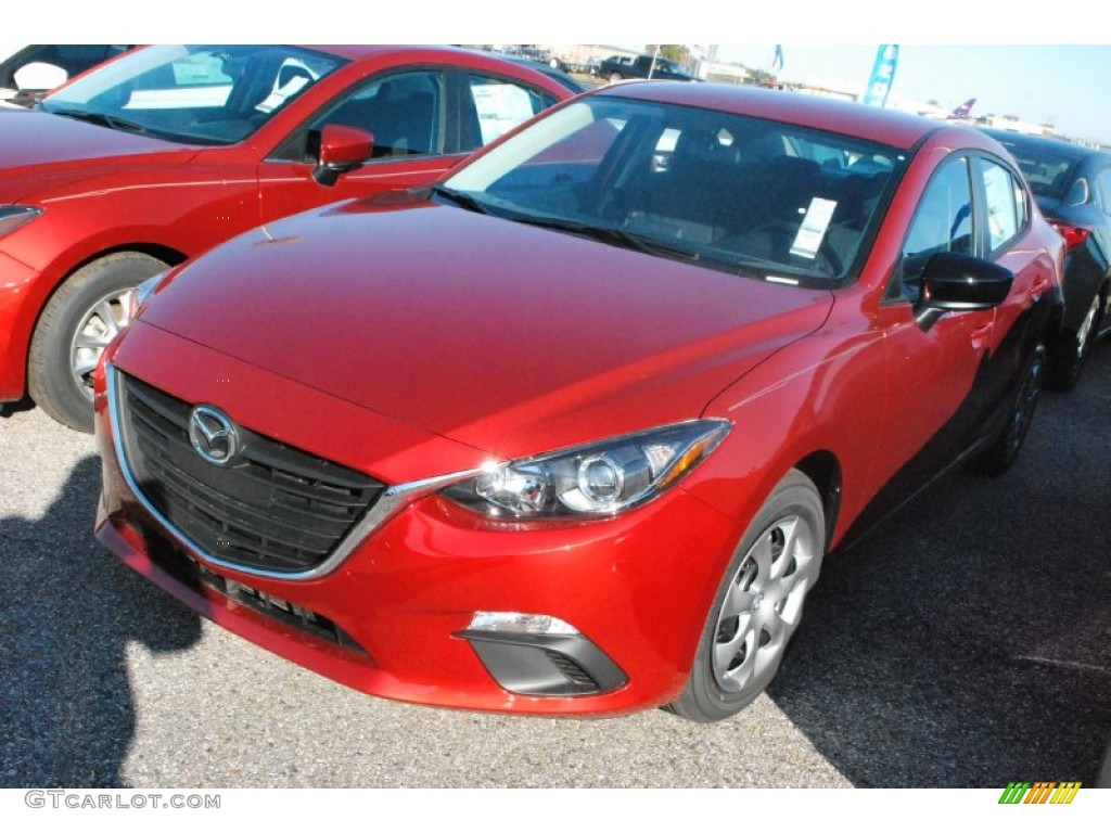 2015 soul red metallic mazda mazda3 i sv 4 door 99250833 car color galleries. Black Bedroom Furniture Sets. Home Design Ideas