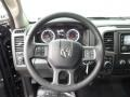 Black/Diesel Gray Steering Wheel Photo for 2015 Ram 1500 #99261346
