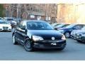 Black 2012 Volkswagen Jetta S Sedan