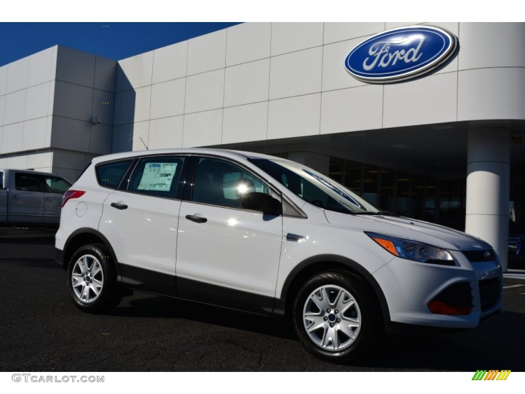 2015 oxford white ford escape s 99289056 car color galleries. Black Bedroom Furniture Sets. Home Design Ideas