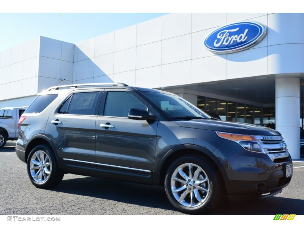 2015 ford explorer xlt magnetic color charcoal black interior 2015