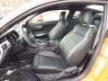 Ebony Front Seat Photo for 2015 Ford Mustang #99331162