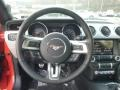 Ebony Steering Wheel Photo for 2015 Ford Mustang #99331372