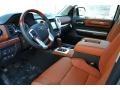 1794 Edition Premium Brown Leather Prime Interior Photo for 2015 Toyota Tundra #99331378