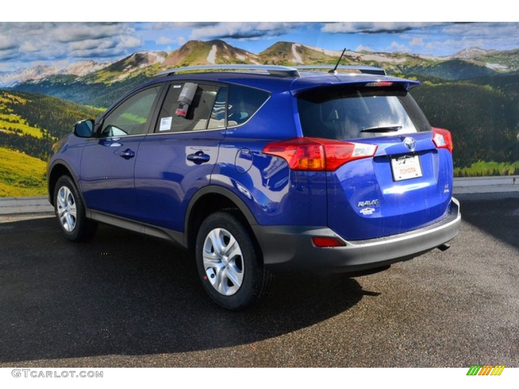 2015 blue crush metallic toyota rav4 le awd 99326866 photo 3 car color galleries. Black Bedroom Furniture Sets. Home Design Ideas