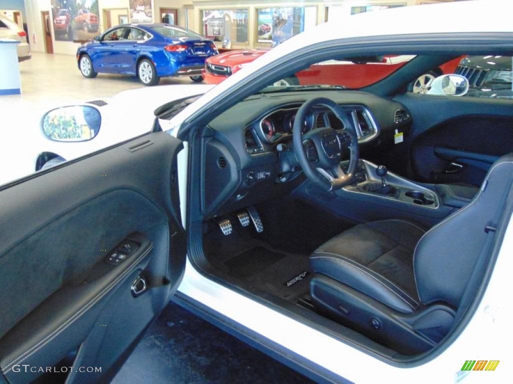 2015 Bright White Dodge Challenger Srt Hellcat 99327484 Photo 8 Car Color