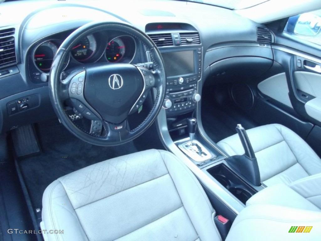 Taupe Ebony Interior 2007 Acura Tl 3 5 Type S Photo 99355402
