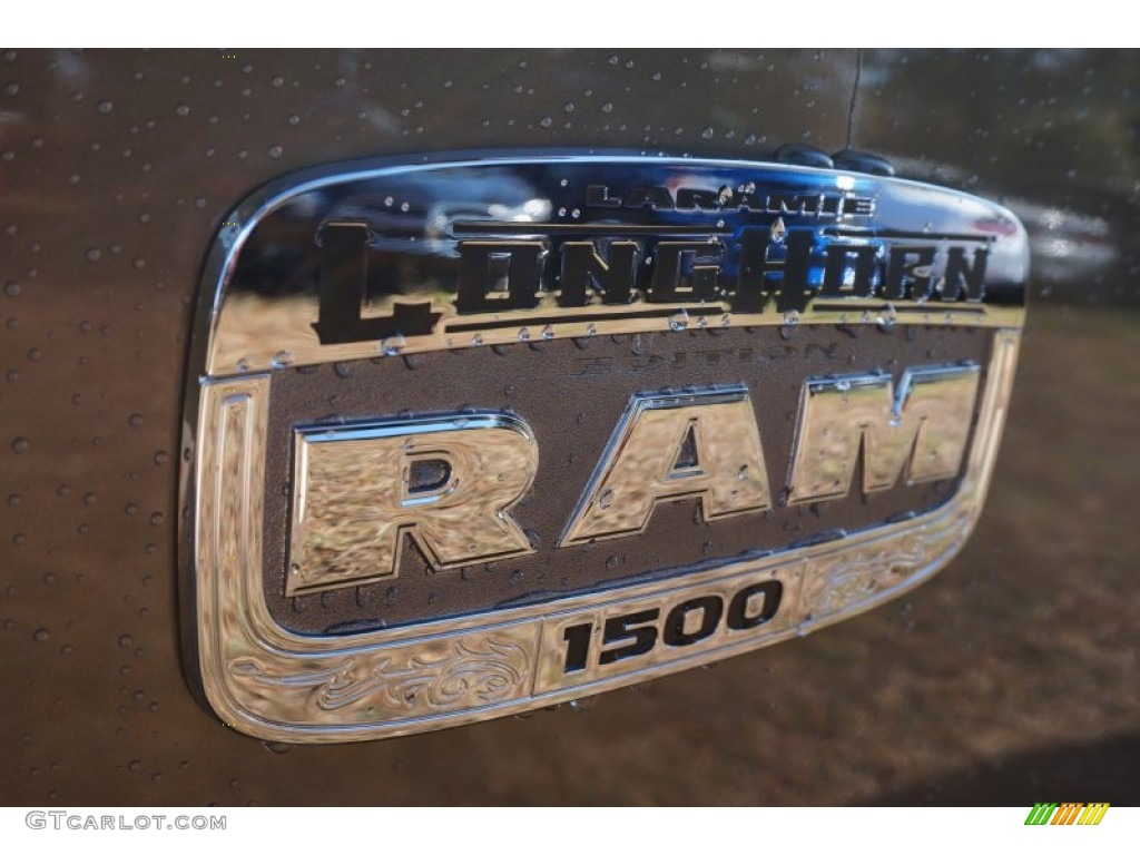 2015 1500 Laramie Long Horn Crew Cab - Prairie Pearl / Canyon Brown/Light Frost photo #6