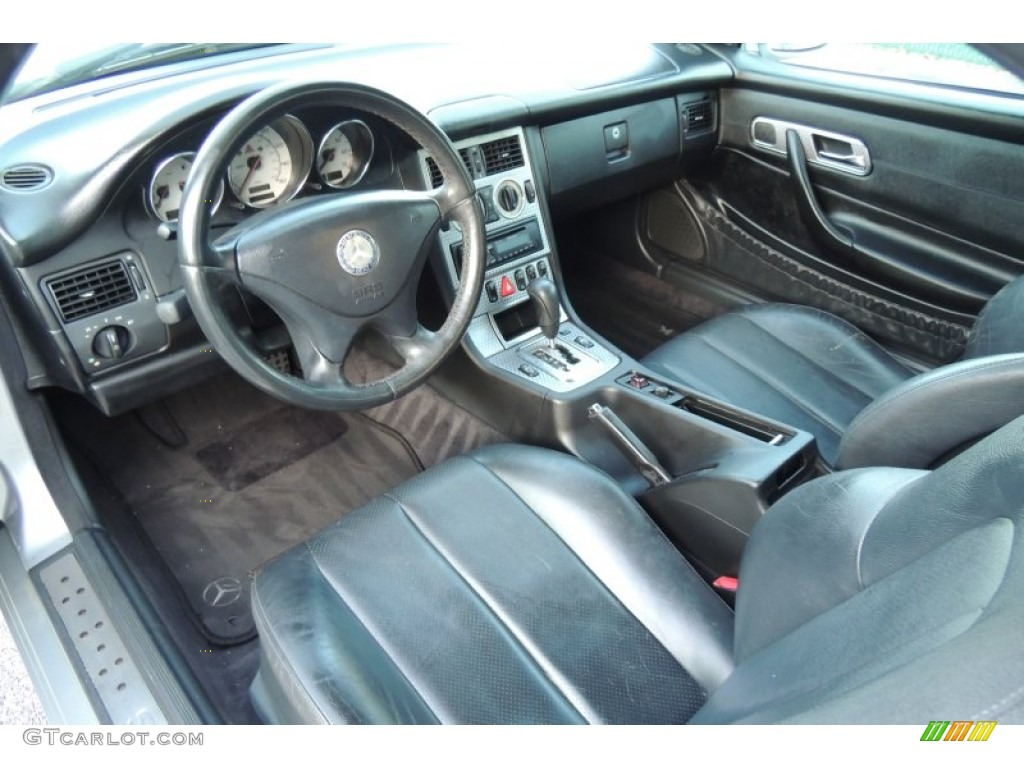 2001 Mercedes Benz Slk 230 Kompressor Roadster Interior Photos