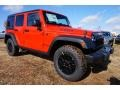 Firecracker Red 2015 Jeep Wrangler Unlimited Gallery