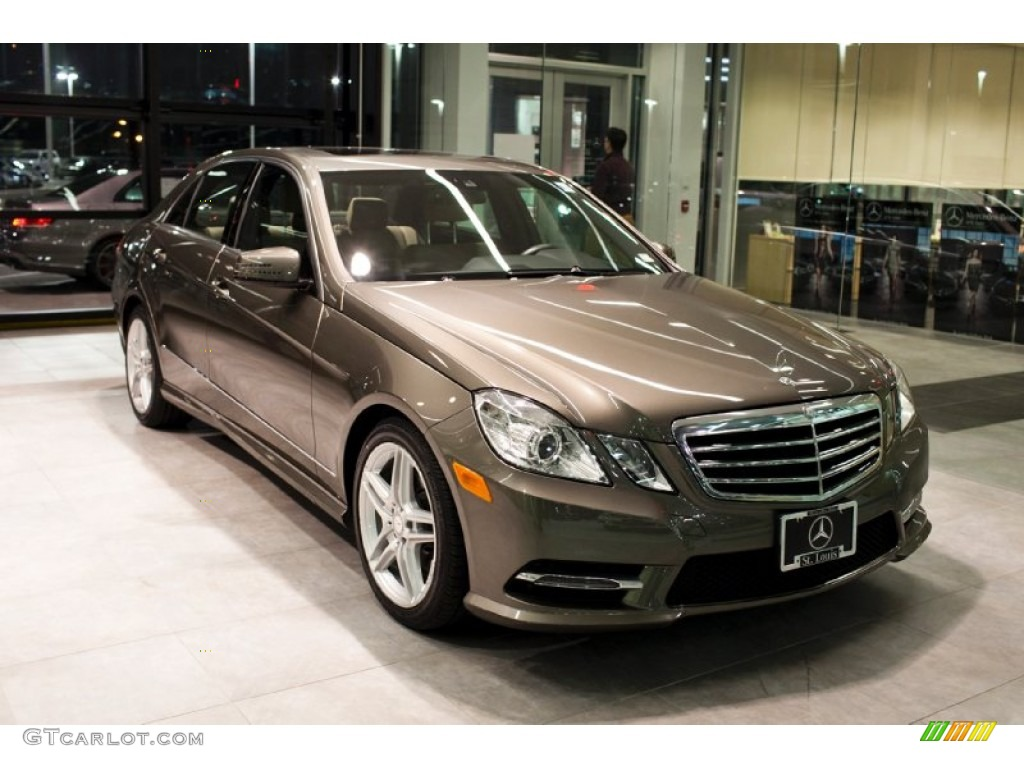2013 indium grey metallic mercedes benz e 350 4matic sedan for Mercedes benz e 350 2013