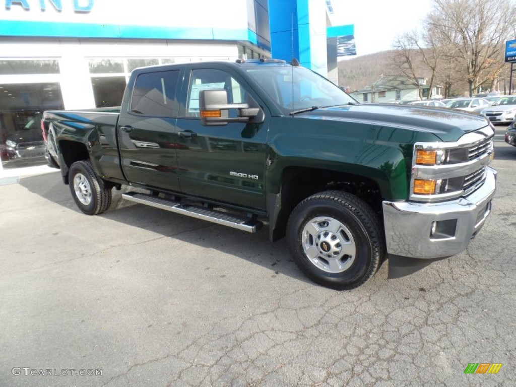 2015 rainforest green metallic chevrolet silverado 2500hd lt crew cab 4x4 99417026 gtcarlot. Black Bedroom Furniture Sets. Home Design Ideas