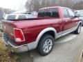 2015 1500 Laramie Quad Cab 4x4 Deep Cherry Red Crystal Pearl
