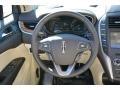 2015 Lincoln MKC Hazelnut Interior Steering Wheel Photo