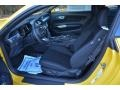 Ebony Interior Photo for 2015 Ford Mustang #99501100