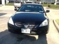 Nighthawk Black Pearl 2006 Honda Accord EX V6 Coupe