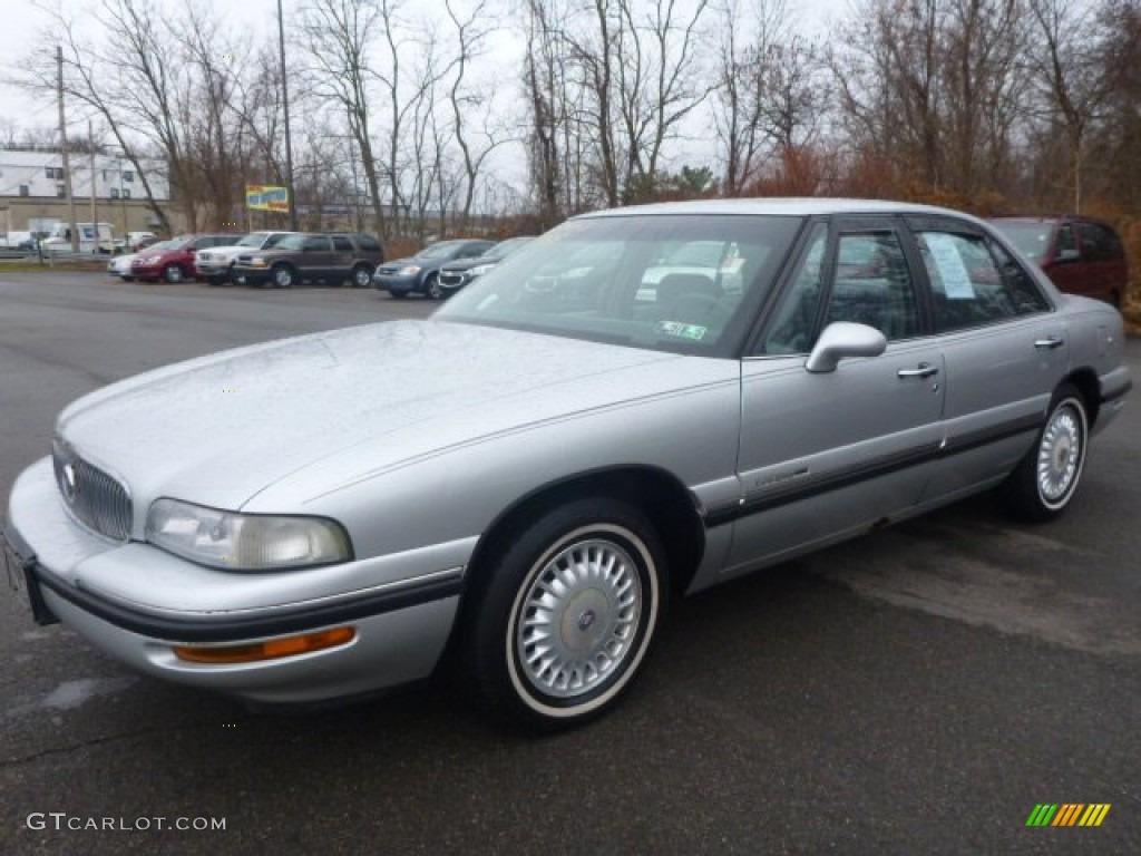 Sterling Silver Metallic 1999 Buick Lesabre Custom Sedan