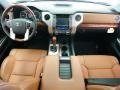2015 Toyota Tundra 1794 Edition Premium Brown Leather Interior Interior Photo