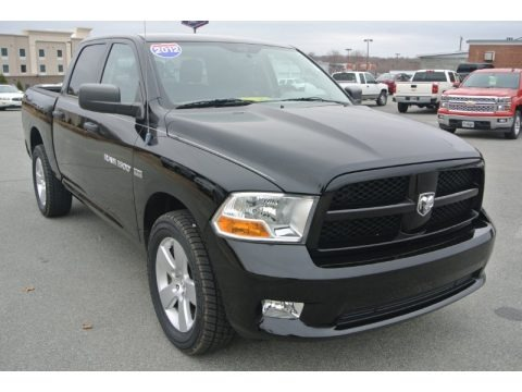 2012 dodge ram 1500 st crew cab 4x4 data info and specs. Black Bedroom Furniture Sets. Home Design Ideas