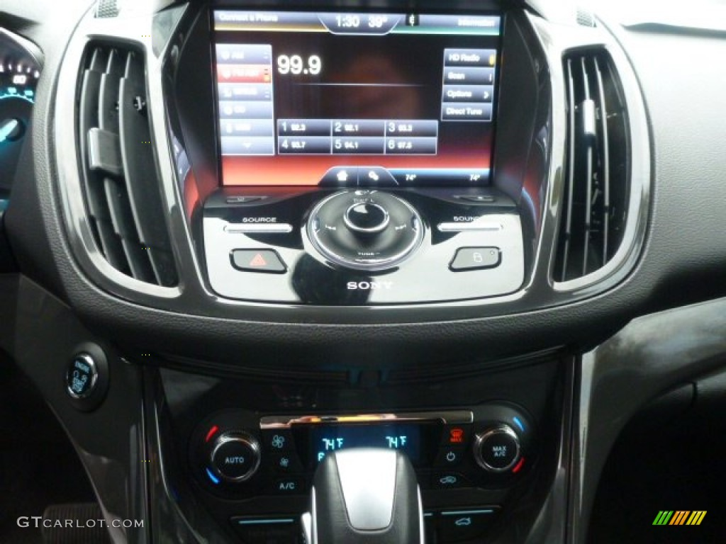 2014 Escape Titanium 2.0L EcoBoost 4WD - White Platinum / Charcoal Black photo #23